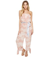 Free People Just Float One Piece Peach Women's Jumpsuit And Rompers One Piece Orange
