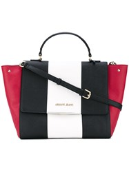 Armani Jeans Contrast Tote Bag Women Polyurethane Synthetic Resin One Size