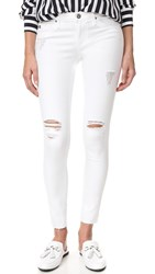 Ag Jeans Legging Ankle Worn White