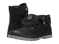 Palladium Baggy Low Lp Black Wild Dove Women's Lace Up Boots