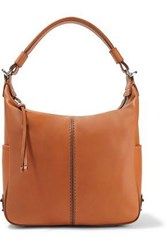Tod's Woman Miky Leather Shoulder Bag Tan