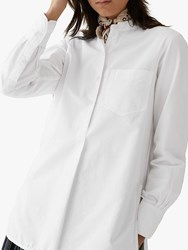 Toast Cotton Oxford Shirt Off White