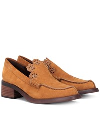 See By Chloe Suede Loafers Brown