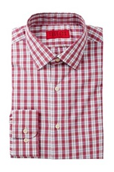 Alexander Julian Plaid Long Sleeve Tapered Fit Shirt