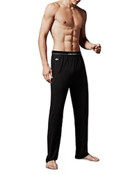 Lacoste Tencel Lounge Pants Black