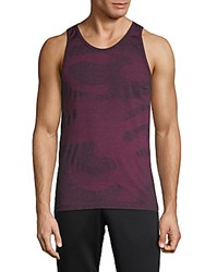 Hpe Camouflage Seamless Tank Top Coral Camo