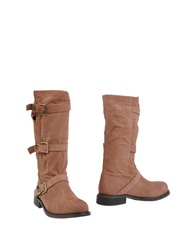Twin Set Simona Barbieri Boots Skin Color