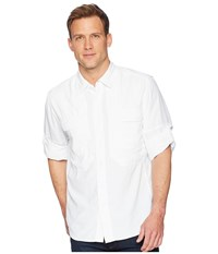 Royal Robbins Bug Barrier Expedition Long Sleeve Shirt White Long Sleeve Button Up