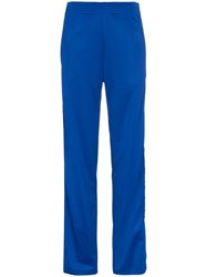 Givenchy Webbing Jogging Pants Polyester Cotton Blue
