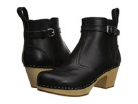 Swedish Hasbeens Jodhpur Black Women's Boots