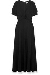 Paul And Joe Becca Crepe Maxi Dress Black