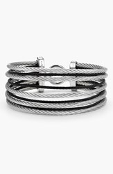 Women's Alor Stack Bracelet Black Grey