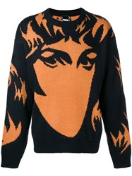 P.A.M. Perks And Mini Pam Abstract Print Jumper Black