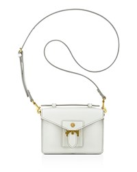 Anne Klein Small Serena Top Handle Crossbody Off White
