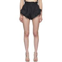Isabel Marant Black Gram Shorts