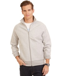 Nautica Full Zip Simple Track Jacket Heather Grey