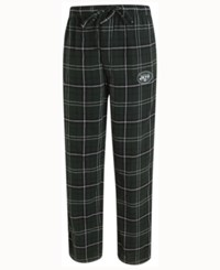 Concepts Sport Men's New York Jets Ultimate Flannel Sleep Pants Green