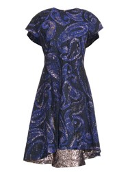 Ellery Heros Paisley Jacquard Dress