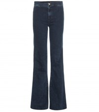 J Brand Tailored Flare High Rise Jeans Blue
