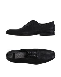 Raparo Footwear Lace Up Shoes Men Black
