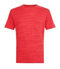 Officine Generale Chest Pocket T Shirt Male Red