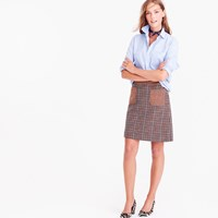 J.Crew Mini Skirt In Mixed Houndstooth