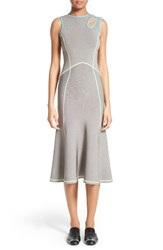 Alexander Wang Women's Strappy Knit Fit And Flare Dress