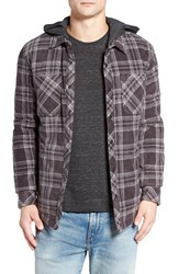 O'neill Men's Glacier Quilt Lined Flannel Shirt
