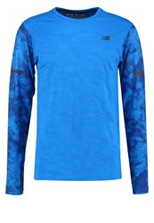 New Balance Intensity Long Sleeved Top Electric Blue