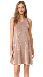 M Missoni Metallic Knit Dress Bronze