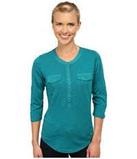 Kuhl Khloe Seaglass Women's Long Sleeve Pullover Green