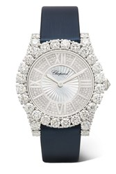 Chopard L'heure Du Diamant 35.75Mm Satin White Gold