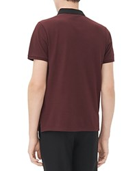 Sandro Regular Fit Polo Bordeaux