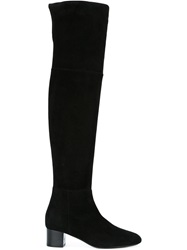 Tom Ford Low Block Heel Boots Black