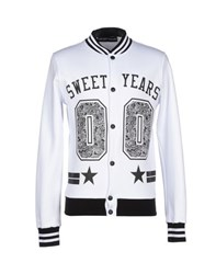 Sweet Years Topwear Sweatshirts Men White