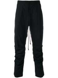 Lost And Found Rooms Gathered Trousers Cotton Spandex Elastane Black