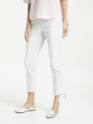 Marc Cain Cropped Ankle Tie Jeans Washed Denim