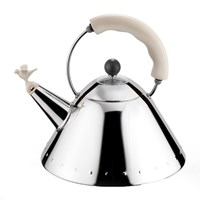 Alessi Bird Whistle Kettle White