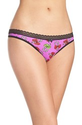 Betsey Johnson Women's Print Thong