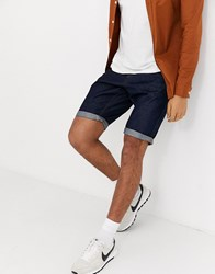 Tom Tailor 5 Pocket Denim Short In Blue Denim