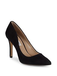 Saks Fifth Avenue Cady Suede Pumps Black
