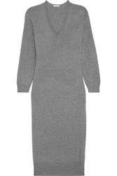 Tomas Maier Cashmere Sweater Dress Gray