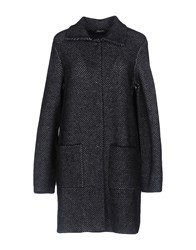 Anne Claire Anneclaire Overcoats Black