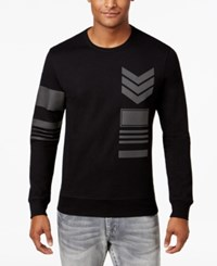Inc International Concepts Men's Graphic Print Long Sleeve T Shirt Only At Macy's Deep Black