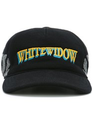 Moncler X Off White Widow Embroidered Cap Black