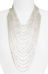 Cristabelle Multistrand Crystal Necklace