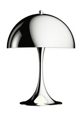 Louis Poulsen Panthella Mini Chrome Table Lamp