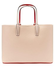 Christian Louboutin Cabata Grained Leather Tote Light Pink