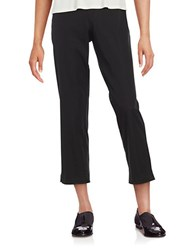 Eileen Fisher Petite Side Zip Cropped Pants Black