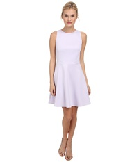 Ted Baker Mitton Peplum Skater Dress Light Purple Women's Dress